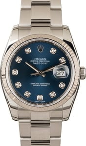 Rolex Datejust 116234 Blue 36mm