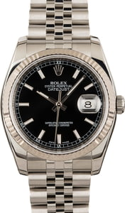Rolex Datejust 116234 Black Dial