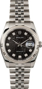 Rolex Datejust 116234 Jubilee Diamond Dial