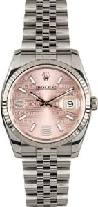 Rolex Datejust 116234 Pink Dial