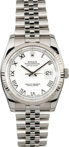 Rolex Datejust 116234 Stainless Steel Jubilee