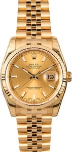 Rolex Datejust 116238 Men's 18k