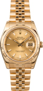 Pre Owned Rolex Datejust 116238 36MM