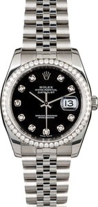 Used Rolex Datejust 116244 Diamond Dial & Bezel