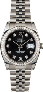 Rolex Datejust 116244 with Diamonds