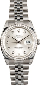 Rolex Datejust 116244 Diamond Bezel