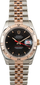 Rolex Datejust 116261 Thunderbird Black Dial