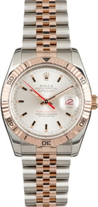 Pre Owned Rolex Datejust 116261 Two Tone Everose Thunderbird