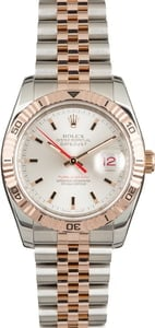 Used Rolex Datejust 116261 Two Tone Everose Thunderbird