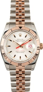 Rolex Datejust 116261 Two Tone Everose Thunderbird