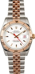 Rolex Datejust 116261 Rose Gold Thunderbird