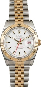 Pre-Owned Rolex Datejust 116263 White Dial 'Thunderbird'