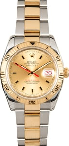 Men's Rolex Thunderbird DateJust Stainless Steel and Gold