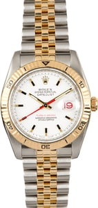 Rolex Datejust 116263 Yellow Gold Thunderbird Certified Pre-Owned