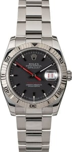Rolex Datejust Thunderbird 116264 Red Date Wheel