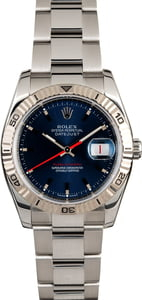 "Rolex Datejust 116264 Blue ""Turn-o-Graph"""
