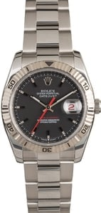Men's Rolex Datejust Thunderbird 116264 Red Date Wheel