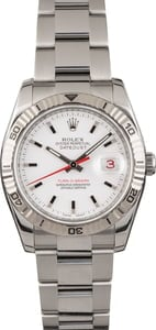 Pre Owned Rolex Thunderbird Datejust 116264 White