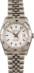 Used Rolex Datejust Turn-O-Graph 116264 Steel Jubilee