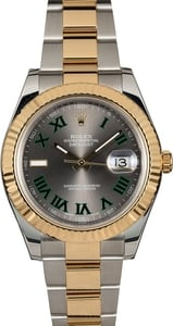 Rolex Datejust 116333 Slate Roman Dial Two Tone