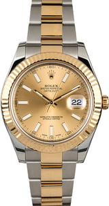 Rolex Datejust II Ref 116333 Champagne Index Dial