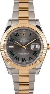 PreOwned Rolex Datejust II Ref 116333 Slate Roman Dial