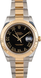 PreOwned Rolex 41MM Datejust 116333 Two Tone Oyster Band