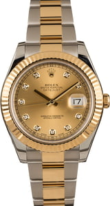 Pre-Owned Rolex Datejust 116333 Diamond Dial Watch