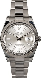 Rolex Datejust 116334 Silver Dial