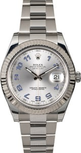 Rolex Datejust 116334 Steel Oyster Band