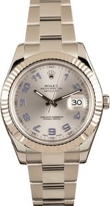 Pre-Owned Rolex Datejust 116334 Lilac Arabic Markers