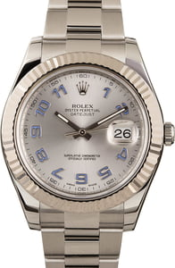 Pre-Owned Rolex Datejust 116334 Arabic Lilac Markers