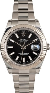 Rolex Datejust II Ref 116334 Black