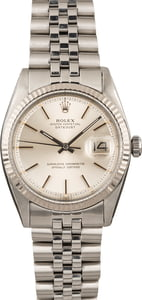 Pre Owned Rolex Datejust 1601 Silver Dial