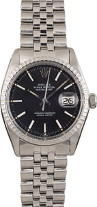 Pre Owned Rolex Datejust Stainless Steel 1603