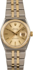 Pre Owned Rolex Datejust 17013 Two-Tone