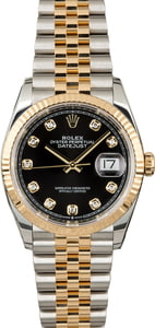 Rolex Datejust 126233 Black Diamond Dial