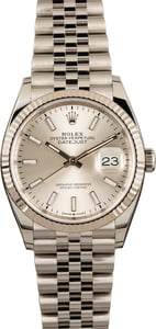 Rolex Datejust 126234 Silver Dial