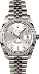 Rolex Datejust 126300 Stainless Steel Jubilee