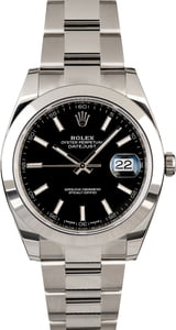 Rolex Datejust 126300 Smooth Bezel