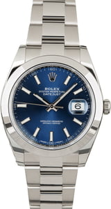 Rolex Datejust 126300 Blue Dial