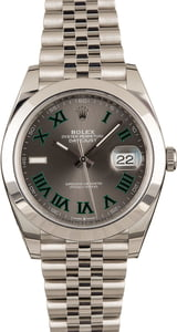 Rolex Datejust 126300 Rhodium Dial