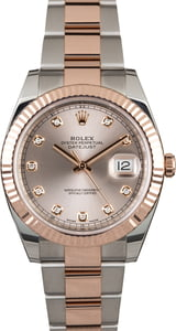 Rolex Datejust 126331 with Diamonds