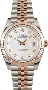 Rolex Datejust 41 Ref 126331 Mother of Pearl Dial