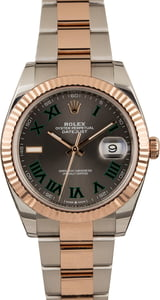Pre Owned Rolex Datejust 126331 Two Tone Everose