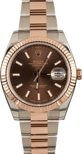 Rolex Datejust 126331 Two Tone Everose Oyster