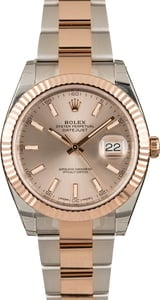 Factory Stickered Rolex Datejust 126331 Everose