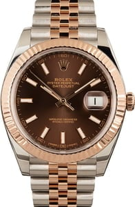 Pre-Owned Rolex Datejust 126331 Everose Jubilee