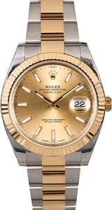 Rolex Datejust 126333 Two-Tone Oyster
