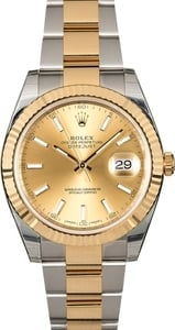 Factory Stickers Rolex Datejust 126333 Two-Tone Oyster